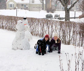 Jake & Friends Make the Most of a Snow Day