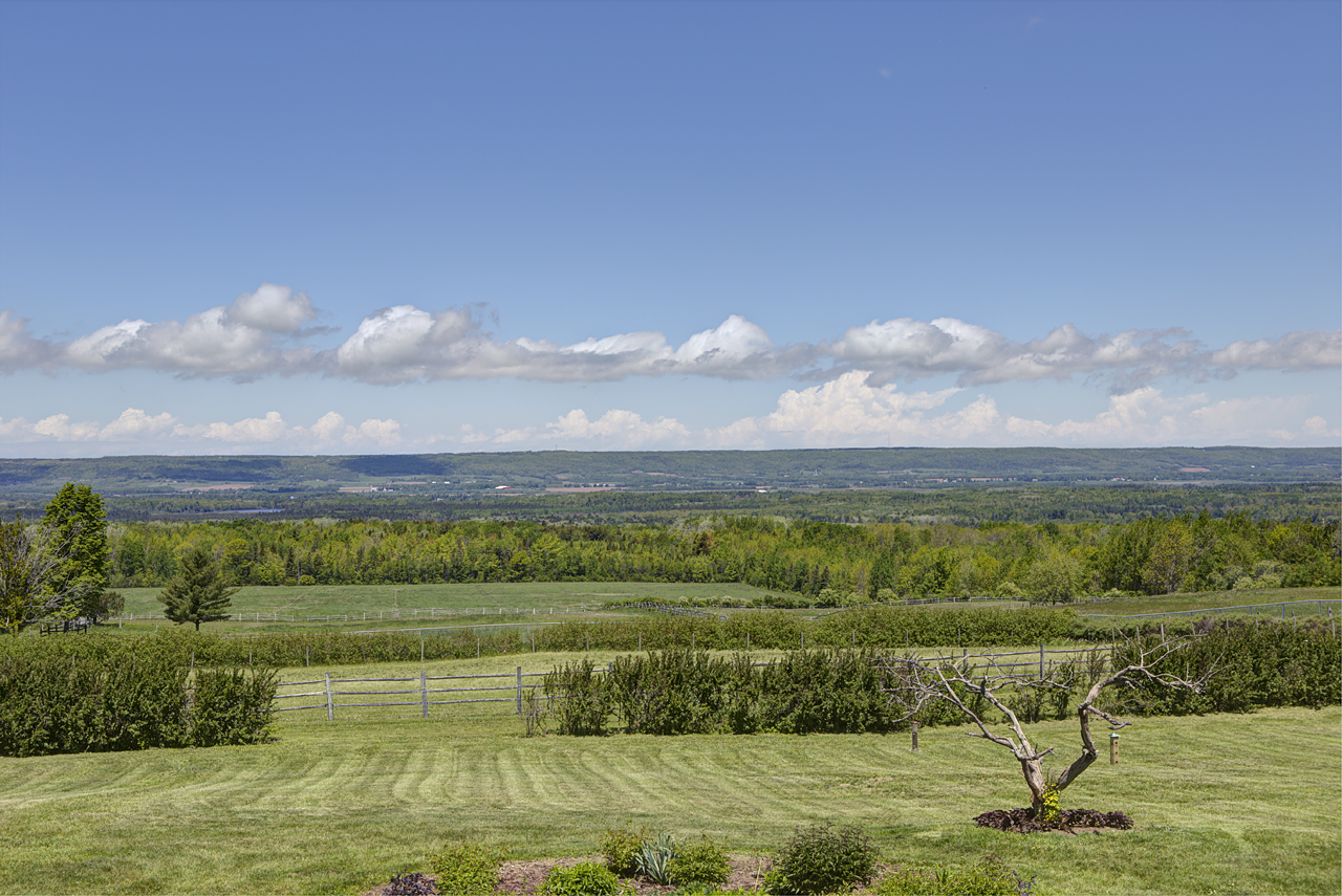 View of Annapolis Valley from the property
